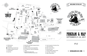 Durham Fair Map & Program Guide
