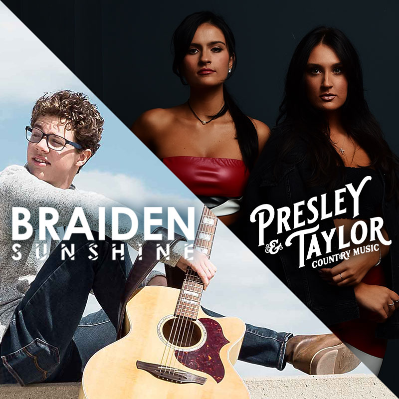 Braiden Sunshine & Presley and Taylor