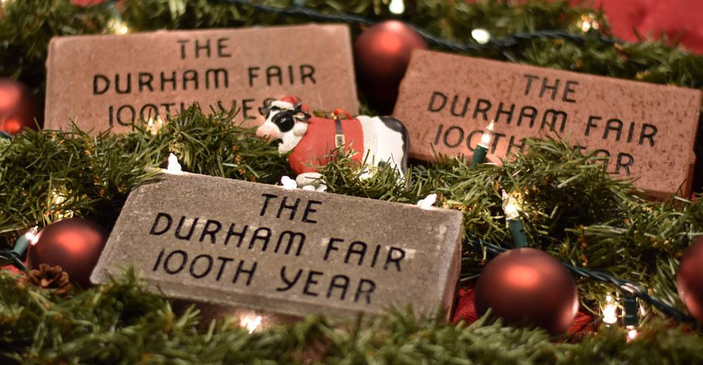 100th Brick Fundraiser The Durham Agricultural Fair Association Inc